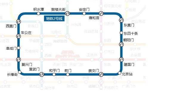 Схема второй ветки пекинского
