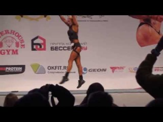 Lyudmila Nikitina at IFBB Russian Nationals 2014