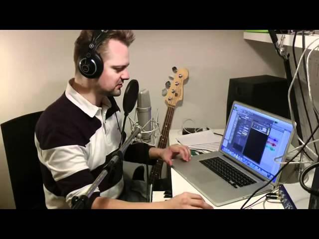 Александр Пушной Как я дома записываю песни