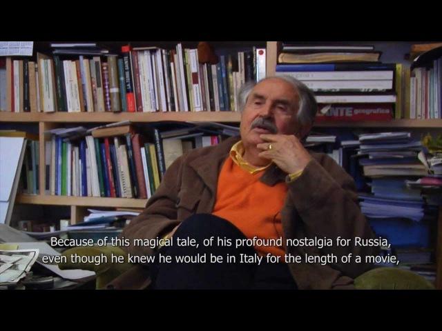 Tonino Guerra on Andrei Tarkovsky