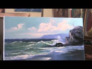 Курсы рисования для взрослых в Москве, обучение живописи , художник Игорь Сахаров » Freewka.com - Смотреть онлайн в хорощем качестве