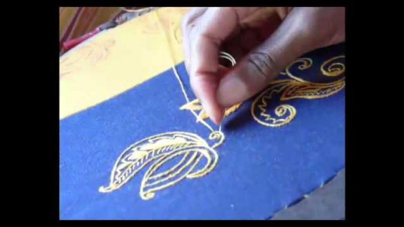 BrodART - Broderie traditionnelle fait main sur métier Embroidery