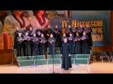 Хор Новоспасского монастыря: выступление в храме Христа Спасителя. 19 апреля 2015 года.