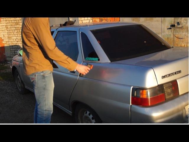 Толщиномер ЛКП. Как пользоваться, как проверить авто, на примере ВАЗ 2110, инструкция [ВИДЕО]