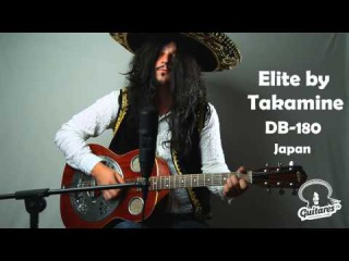 Elite by Takamine DB-180, Japan