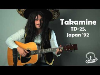 Takamine TD-25, Japan '92