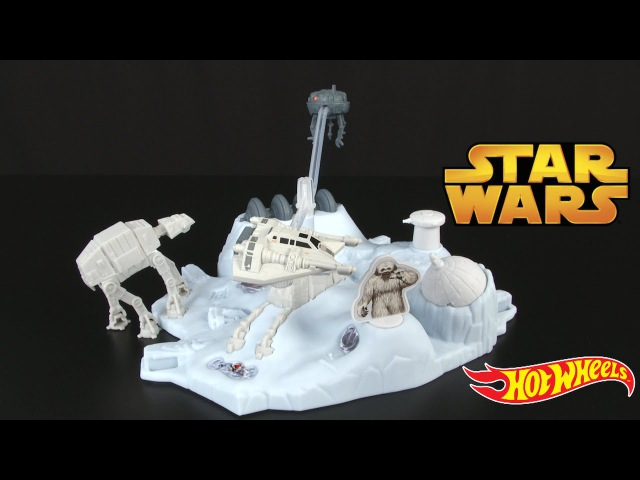 Hot Wheels Star Wars HOTH Echo Base Battle from Mattel