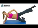 Leg Slimming Pilates Butt and Thigh Workout by FitnessBlender.com