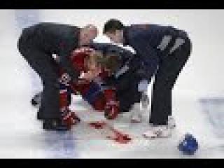 20 самых страшных травм полученных во время хоккея. ч.1 Все обо всем