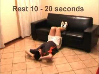 Упражнения для накачки пресса в домашних условиях