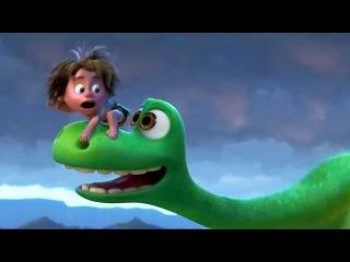 Хороший динозавр | Русский трейлер мультфильма | Дисней 2015