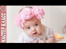 Крупные цветы на повязочке / Видео мастер класс