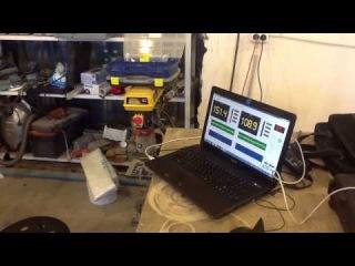 Мостовое подключение двух усилителей ARIA AP-D2000 в 1 Ом мощность усилителя GAIN 1/2