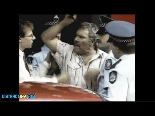 GET YOUR HANDS OFF MY PENIS! - Epic Australian Man Arrested