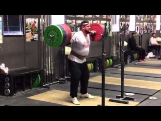 Brian Wilhelm Back Squat Triple 270 kg (595 lbs)