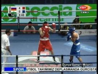 Artur Beterbiev RUS vs Dinesh Kumar IND 81kg 2009 09 09