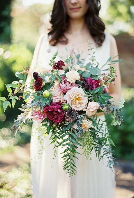 YU1B6RkDMYk - Великолепие осени в свадебных букетах (42 фото)