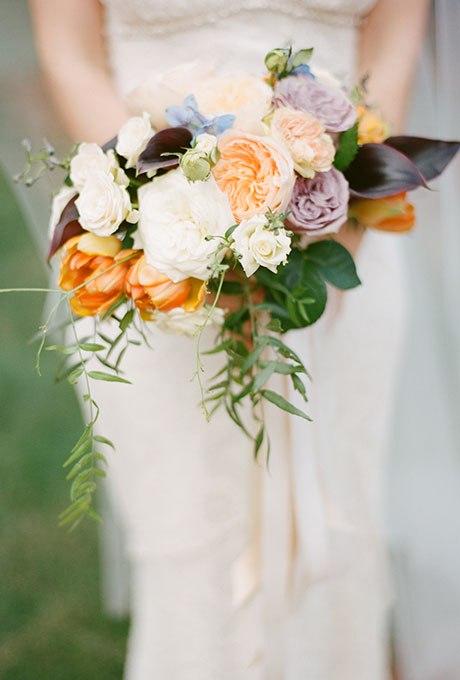 9DkFTjuk CM - Великолепие осени в свадебных букетах (42 фото)