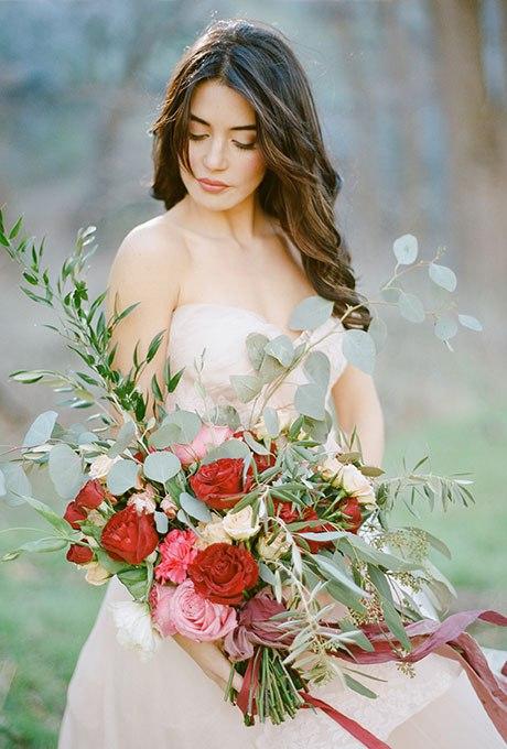 kI3SL7oarJg - Великолепие осени в свадебных букетах (42 фото)