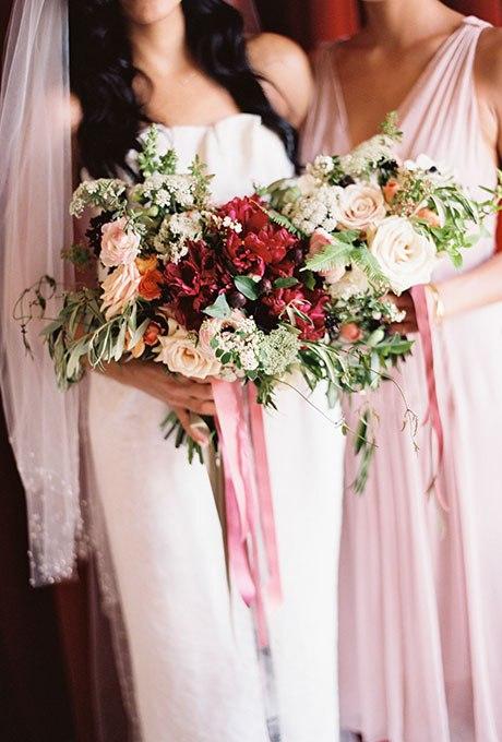 xIhM1XYco5E - Великолепие осени в свадебных букетах (42 фото)
