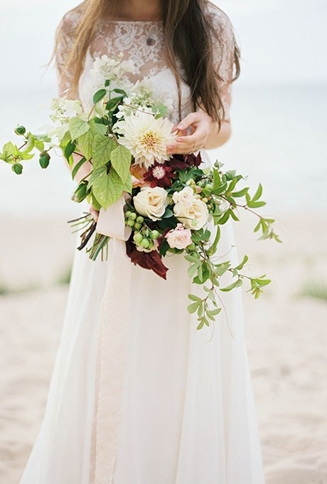 7ewHywYFha4 - Великолепие осени в свадебных букетах (42 фото)