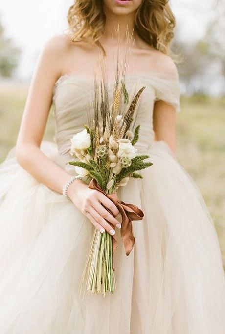 3zQBHWnWz8 - Великолепие осени в свадебных букетах (42 фото)