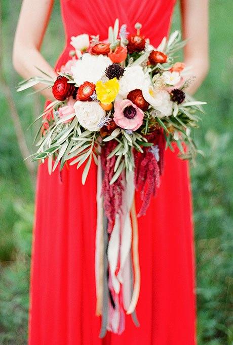 Z0jk4tfheWI - Великолепие осени в свадебных букетах (42 фото)