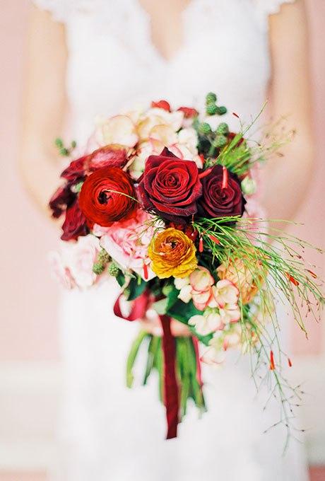 kKx4rrqTV2c - Великолепие осени в свадебных букетах (42 фото)