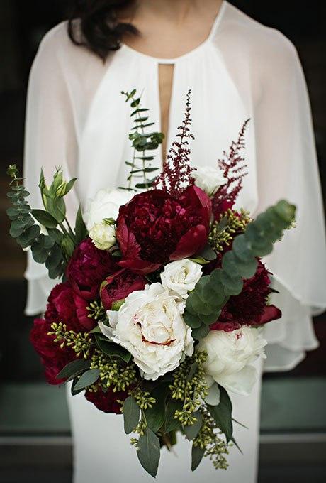 7yBIRqmMR1U - Великолепие осени в свадебных букетах (42 фото)