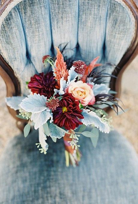 3 lzsI7eRqs - Великолепие осени в свадебных букетах (42 фото)