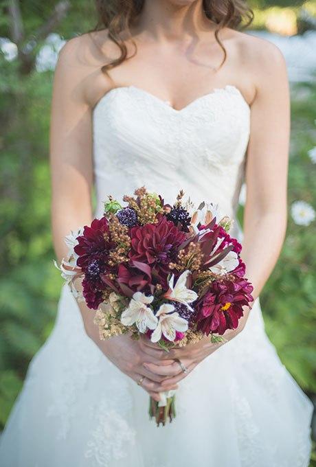 kXsPE5fXOik - Великолепие осени в свадебных букетах (42 фото)