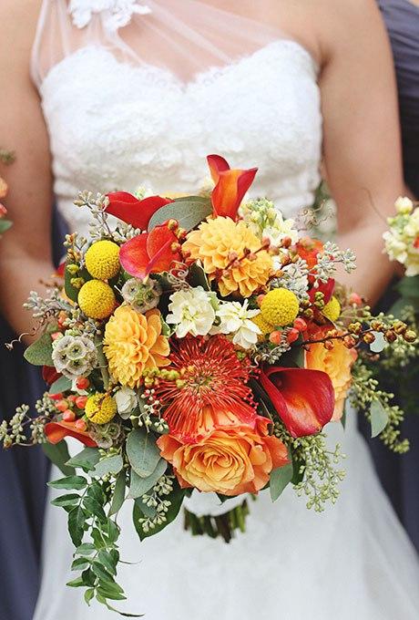 l1sosJR1YDY - Великолепие осени в свадебных букетах (42 фото)