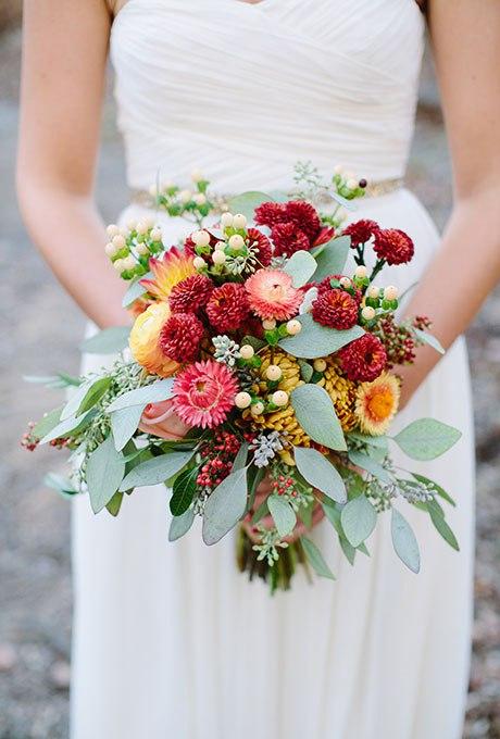 DlBGHccuoVk - Великолепие осени в свадебных букетах (42 фото)