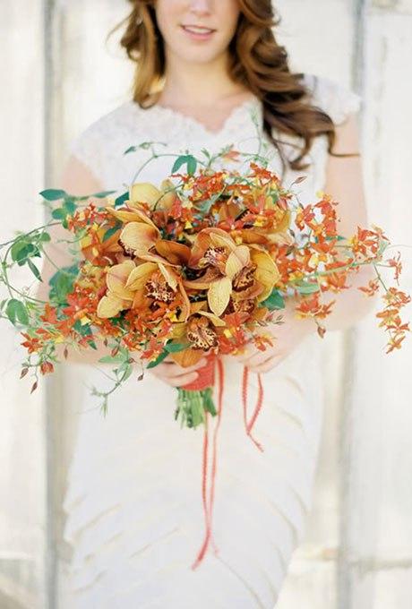 4lS8h6Ckqtw - Великолепие осени в свадебных букетах (42 фото)