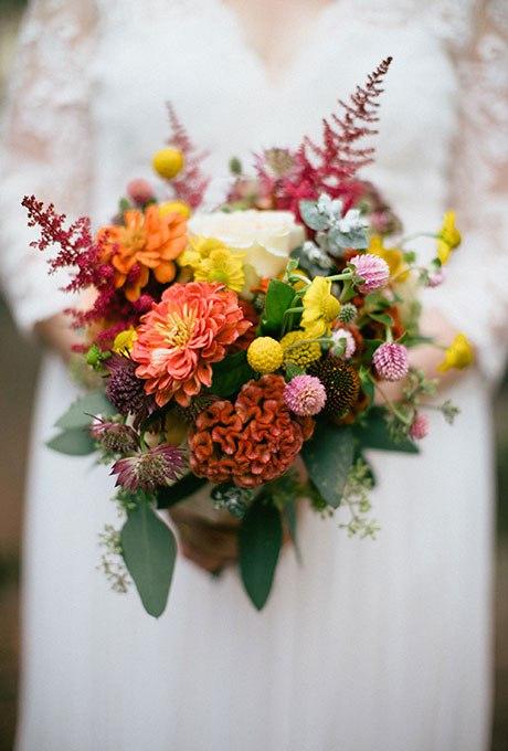 tYLRywe9qX8 - Великолепие осени в свадебных букетах (42 фото)