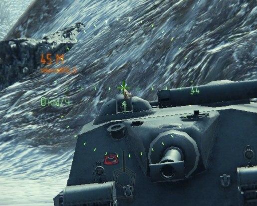 Новый боевой интерфейс Z-MOD для World of Tanks