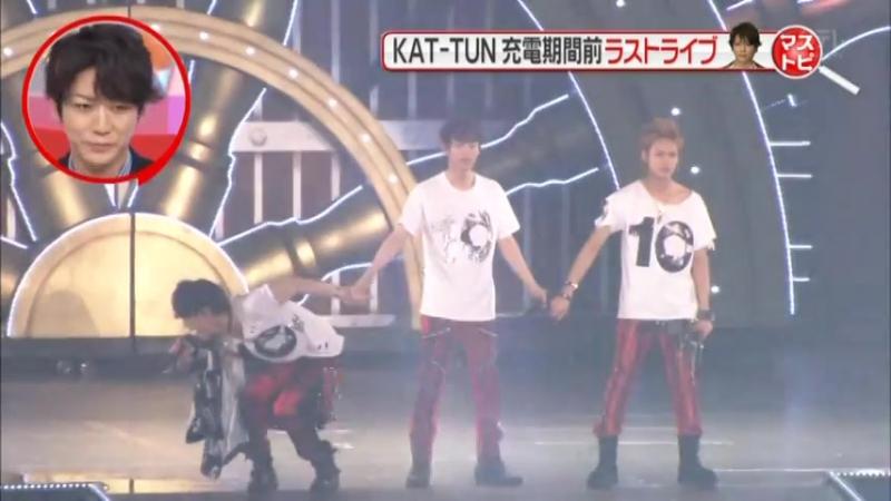 01.05.2016 GOING - Tokyo Dome - KAT-TUN 10TH ANNIVERSARY LIVE TOUR 10Ks