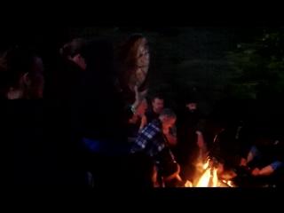 Сказка, Королевская Ночь, Баня на берегу, джем-междусобойчик, , грузинские музыки жгут с нашими