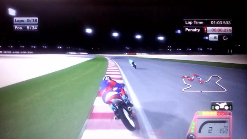 Мото GP 15 2-ой сезон чемпионата мира 1-ый этап на трассе Лосаил в Катаре класс мото 3 гонка