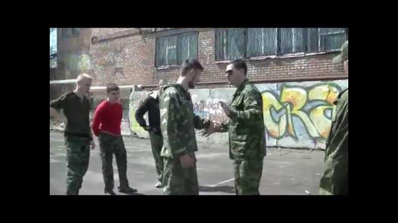 Казачий ножевой бой Шахты Базовые принципы самообороны Денис Потапенко