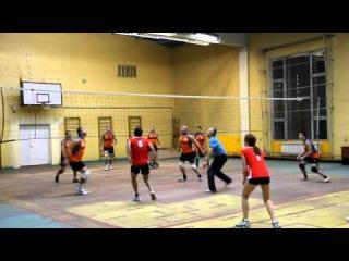 Первенство Holcim (Россия) по волейболу. Разминка