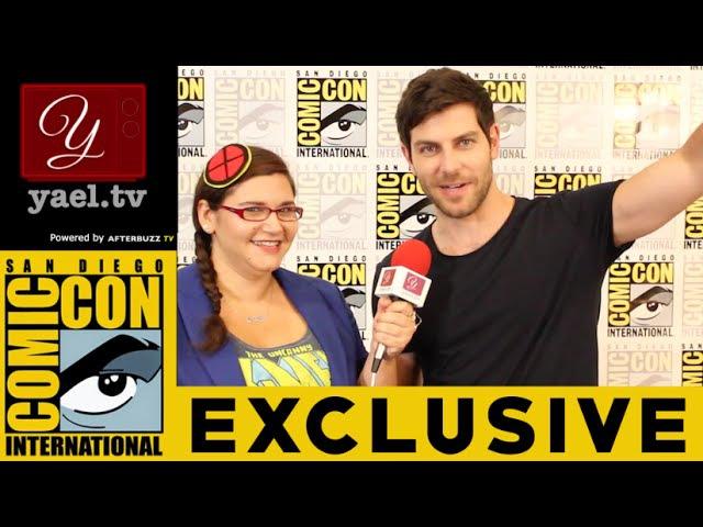David Giuntoli (Nick Burkhardt) - Grimm Interview - San Diego ComicCon 2015