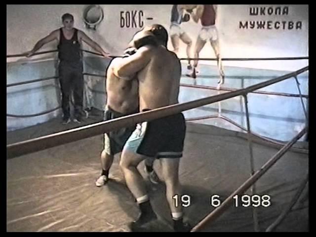 Боксер против борца!