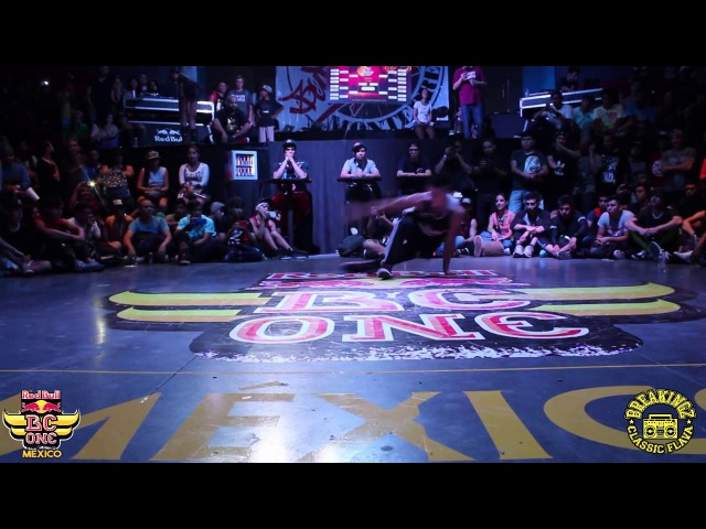 GIL MORRISON VS KASTRITO TOP 8 RED BULL CYPHER MEXICO 2015
