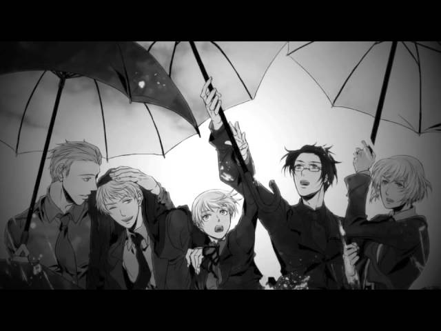 【APH - Germanic Family amv】Avicii Mash-up - Wake me up Hey Brother