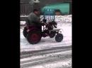 Самодельний міні трактор на базе Планетовського движкаГайворон