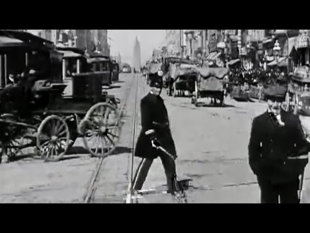 Time Travel - 4 Days Before the Great Earthquake - You're On A San Francisco Cable Car April 1906