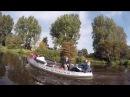 Trip on boat in Groningen