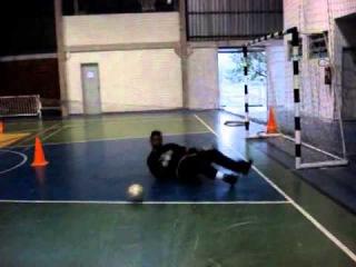10 тренировка вратаря PROFESSOR TIAGO PONTES