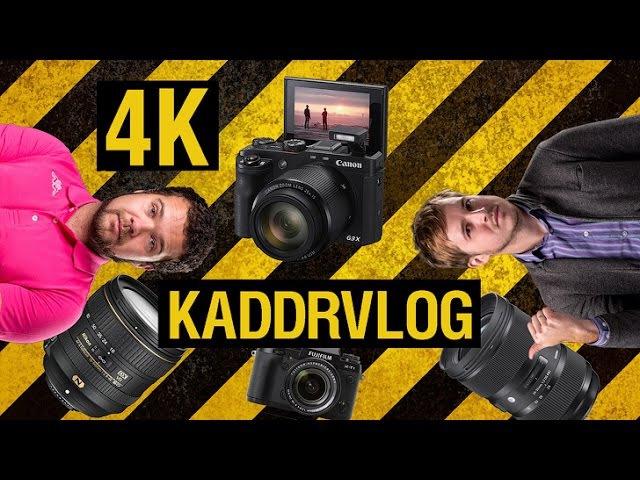 KaddrVLOG S03E02 - Canon G3 X, Sigma 24-35mm F2 Art, Nikkor 16-80mm F2.8-4, 4K контент